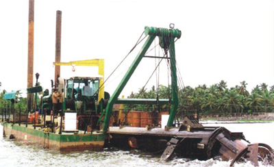 Dredging Snap on Water Ways